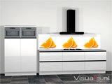 Keukenachterwand P09 Premium - Visualls.nl