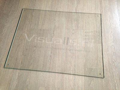 Keukenachterwand gehard glas transparant - Visualls.nl
