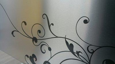 Curlz collectie keukenachterwand RVS look C15