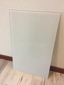 Glaswand wit - 52,9x32,8 cm