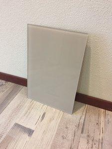 Glaswand sand - 38,8x26 cm