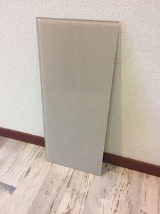 Glaswand sand - 60x26 cm