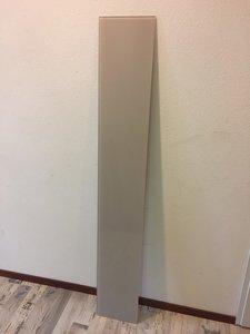 Glaswand sand - 169,3x26 cm