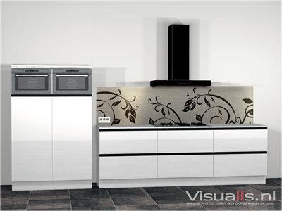Keukenachterwand C01 Butler - Visualls.nl